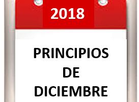PRIMEROS DICIEMBRE