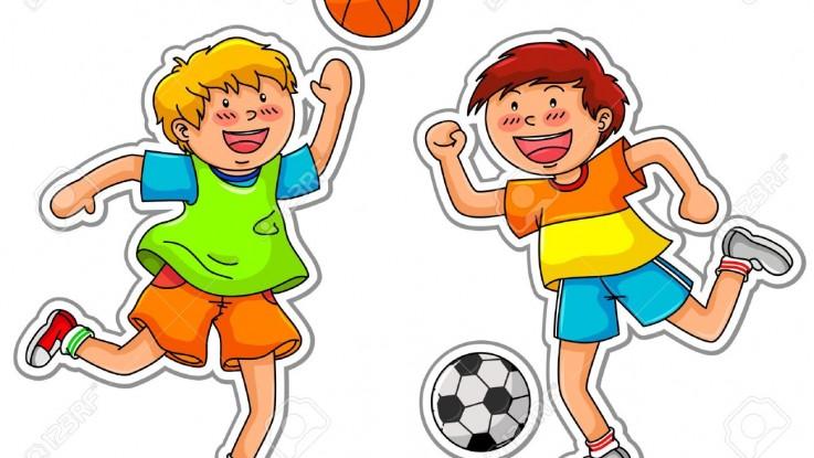 16511285-niños-jugando-baloncesto-y-fútbol