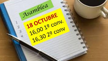 asamblea 18 octubre